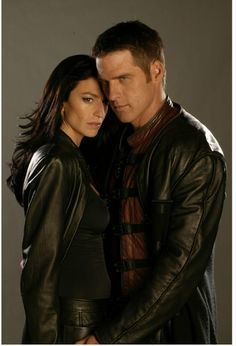 Farscape Claudia Black, Ben Browder right up there with Rose and Ten Best Sci Fi Shows, Sci Fi Tv Shows, Sci Fi Series, Tv Series, Hallmark Mysteries, Ben Browder, Claudia Black, Fantastic Voyage, Actress Jessica