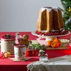 Idee per decorare la tavola di Natale a colazione