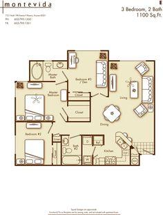 1 bedroom 1 bathroom apartment home in phoenix az 85021 cross