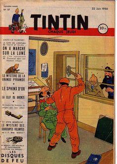 Journal de TINTIN édition Française N° 87 du 22 Juin 1950