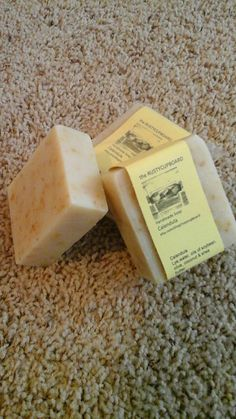 Handmade Calendula Soap by rustycupboard on Etsy