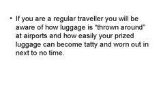 Samsonite Luggage Review