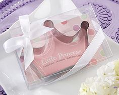 """""""Little Princess"""" Stainless-Steel Crown Cookie Cutter"""