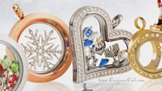 I love the holiday line from Origami Owl! Happy Hanukkah! Let it snow!  www.angierhoads.origamiowl.com