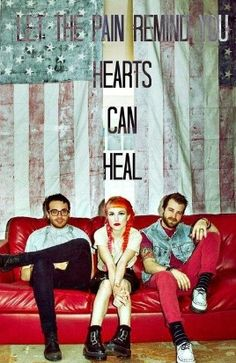 Let the pain remind you hearts can heal...<3