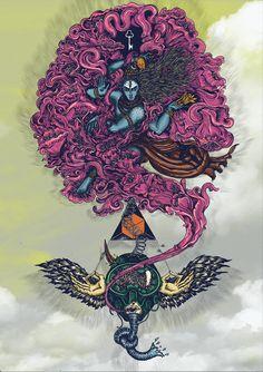 Lord Shiva and Ravana being the source of inspiration. Mahakal Shiva, Shiva Art, Hindu Art, Instagram Tattoo, Lord Shiva Hd Wallpaper, Lord Shiva Family, Lord Shiva Painting, Om Namah Shivay, Lord Mahadev