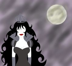 The Black Queen by ReinaVilla.deviantart.com