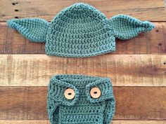 A personal favorite from my Etsy shop https://www.etsy.com/listing/476087375/star-wars-yoda-newborn-hat-and-diaper