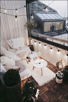 The Happiness of Having Yard Patios – Outdoor Patio Decor Small Balcony Garden, Small Balcony Decor, Outdoor Balcony, Terrace Garden, Patio Balcony Ideas, Backyard Patio, Small Balcony Furniture, Budget Patio, Narrow Patio Ideas