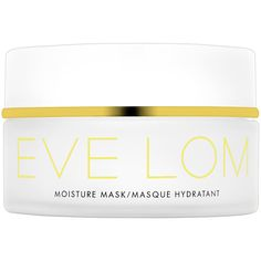 New at #Sephora: EVE LOM Moisture Mask. A deeply hydrating moisture mask to reveal brighter, younger-looking skin. #skincare #masks #SkincareIQ