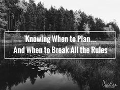 Knowing when to plan