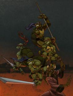 Tmmt Teenage Mutant Ninja Turtles Turtle Van Party Wagon Mount pour radar partie