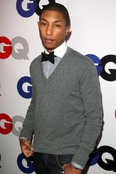 Pharrell Williams — Williams is definitely a man of many talents, including being a rapper, producer, and clothing designer, but his personal fashion POV is equally multi-dimensional. Be it buttoned all the way up, or going a bit more downtown grunge, his look is consistently fresh and always cool.    Photo: Matt Baron/BEImages