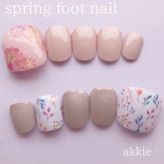 Media?size=l Cute Toe Nails, Toe Nail Art, Simple Nail Art Designs, Nail Designs, Self Nail, May Nails, Kawaii Nails, Bride Nails, Nail Jewelry