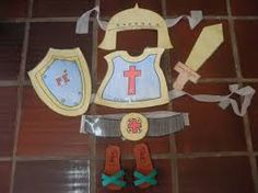 Resultado de imagem para armadura de deus infantil
