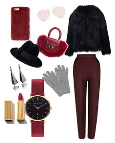 """Без названия #5"" by yliuagazhim on Polyvore featuring мода, The 2nd Skin Co., SALAR, L.K.Bennett, Missguided, Gucci и Abbott Lyon"