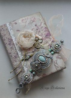 """Купить браслет """"history"""" - серый, золотой, бирюзовый, украшение на каждый день, стильный браслет"""