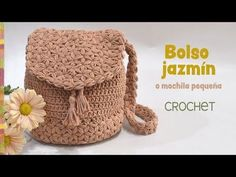 I just love crochet handbags. I have really a lot, but that doesn't stop me from making other crochet bags, especially when I find wonderful patterns like this. Mochila Crochet, Bag Crochet, Crochet Diy, Crochet Crocodile Stitch, Crochet Handbags, Crochet Purses, Love Crochet, Crochet Stitches