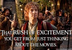I am SO excited for The Hobbit