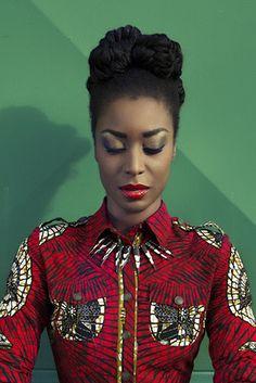 Lookbook Spring Summer 2015 Hot Mama Africa - Lena Hoschek, African fashion