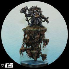 Warhammer Age of Sigmar | Kharadron Overlords | Arkanaut Admiral #warhammer #ageofsigmar #aos #sigmar #wh #whfb #gw #gamesworkshop #wellofeternity #miniatures #wargaming #hobby #fantasy