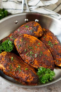 Gourmet Chicken, Cooked Chicken Recipes, How To Cook Chicken, Easy Teriyaki Chicken, Duck Recipes, Turkey Recipes, Whole Roasted Chicken, Homemade Seasonings, Best Breakfast Recipes