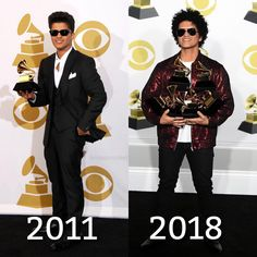 Bruno Mars(@brunosrocket)Instagram「I mean. I CAN'T BE PROUDER OF OUR BABY AWWW IM CRYING AGAIN❤️❤️❤️ @brunomars #brunomars」