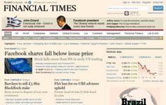 Financial Times estima más suscriptores digitales que copias impresas vendidas.