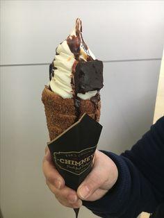Eva's chimney ice cream