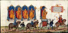 Artist: various, Title: »Triumphzug Kaiser Maximilians« Page 30, Date: 1526
