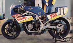 Honda CBR400F - Moriwaki F3 Racer Replica