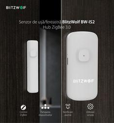 Stim deja ca securitatea locuintei tale este importanta pentru tine, asa ca iti venim in ajutor cu cele mai #smart device-uri ce te pot ajuta sa fii constant cu ochii pe locuinta ta! 😍 📌Senzorul magnetic Blitzwolf BW-IS2 cu montare pe usa sau fereastra poate fi folosit pentru securitatea casei. 📌Se declanseaza cand distanta dintre partile senzorului este mai mare de 20 mm si iti va trimite notificari de tip Push pe telefon prin intermediul aplicatiei. Magnets, Electronics, Phone, Telephone, Mobile Phones, Consumer Electronics