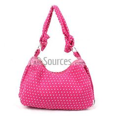 Fusia Satchel Bags, Hobo Bags, Handbags, Bags With White Dots