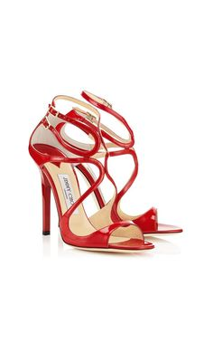 b402ac26cde Jimmy Choo Lance Red Patent Leather Strappy Sandals  womenstyle   festivalstyle Strappy Sandals