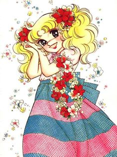 """Candy Candy! This was an old Japanese animated show from the '70s but I grew up watching it. I loved her so much that I insisted to be called """"Candy""""."""