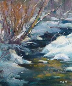 Painting my World: Painting Shadows & Light in Snow ...Part I