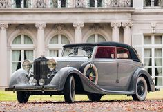 """all-types-of-cars: """"Rolls-Royce Phantom III by Voll & Ruhrbeck 1937 """""""