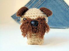 Amigurumi Brussels Griffon crochet by Owlystore