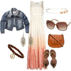 a little bit hippy, created by erialcbe on Polyvore
