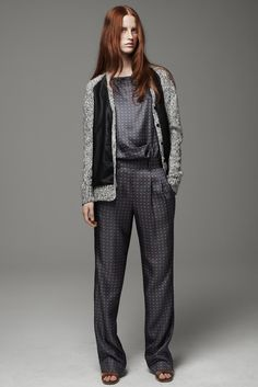 Thakoon Addition Pre-Fall 2013 Fashion Show - Magdalena Jasek