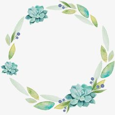 fresh and elegant watercolor wreath, Wreath, Ring, Decorative Frame PNG Image and Clipart Wreath Watercolor, Watercolor Background, Watercolor Flowers, Watercolor Paintings, Drawing Flowers, Drawing Borders, Floral Vintage, Wreath Drawing, Decoupage Vintage