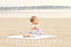 Beach Baby Girl Photo Shoot