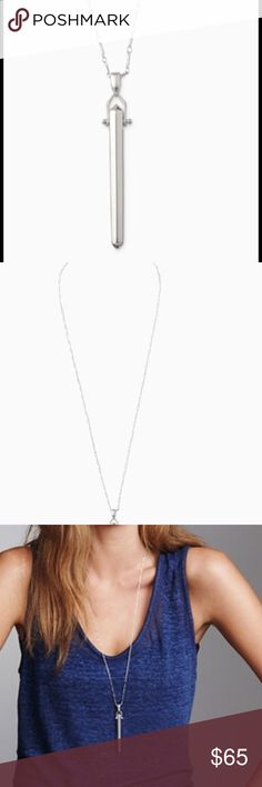 rebel pendant in silver . great everyday statement Stella & Dot Jewelry Necklaces