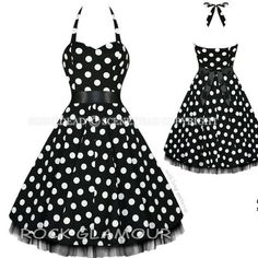 50's and #awesome! I want this dress!