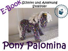 E-Book Stofftier Pferd Pony Palomina von mommymade | dawanda (6.50 E)
