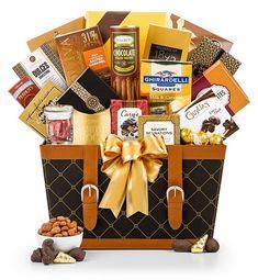 Gourmet Gift Baskets: Golden Gourmet