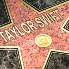 taylor swift hollywood walk of fame - Google Search