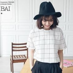 Buy 'BAIMOMO – Short-Sleeve Check T-Shirt' with Free International Shipping at YesStyle.com. Browse and shop for thousands of Asian fashion items from Taiwan and more!