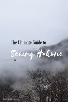 A complete 1-day guide to seeing Hakone. Trains, bus routes, a step-by-step guide. Perfect as a day trip from Tokyo.