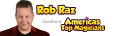 Just found a cool Magician for parties named Rob Raz, based out of Orange County.  http://magicianorangecountyca.com